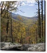 Blue Ridge View Canvas Print