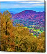 Blue Ridges Canvas Print