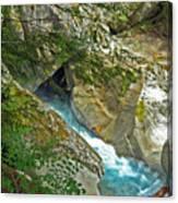 Blue River Canvas Print