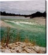 Blue River One Canvas Print