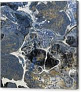 Blue Rock One Canvas Print