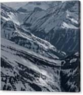Blue Rockies Canvas Print