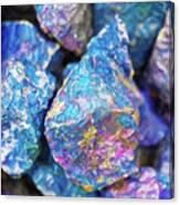 Blue Rocks Hold Canvas Print