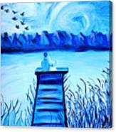 Blue Romance Canvas Print
