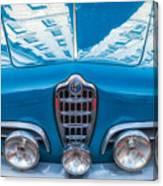 Blue Romeo Canvas Print