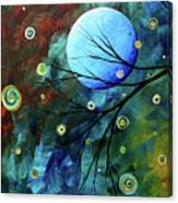 Blue Sapphire 1 By Madart Canvas Print