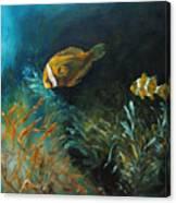 Blue Seas Canvas Print