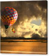 Blue Skies Ahead Canvas Print