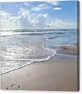Blue Skies South Padre Island Texas Canvas Print