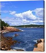 Blue Skies In Maine Canvas Print