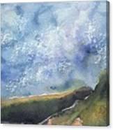 Blue Sky II Canvas Print