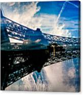 Blue Sky In Paris  Canvas Print