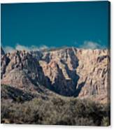 Blue Sky Over Red Rock Canvas Print