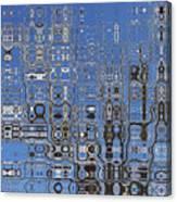 Blue Sky Quilt Canvas Print