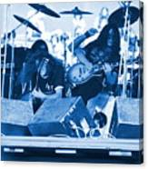 Blue Skynyrd Smoke Canvas Print