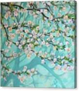 Blue Spring Canvas Print
