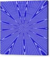 Blue Star Janca Abstract Canvas Print