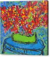 Blue Still Canvas Print