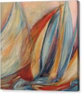 Blue Stream Canvas Print