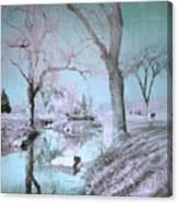 Blue Sunday Canvas Print
