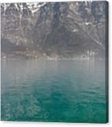 Blue Swiss Lagoon Canvas Print