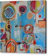 Blue System Canvas Print
