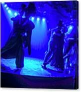 Blue Tango Canvas Print