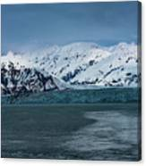 Blue Tidewater Glacier  Canvas Print
