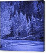 Blue Vail Canvas Print