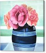 Blue Vase Canvas Print