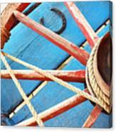 Blue Wagon 2 Canvas Print