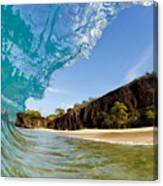Blue Wave - Makena Beach Canvas Print