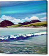 Blue Wave Canvas Print