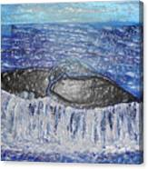 Blue Whale 1 Canvas Print