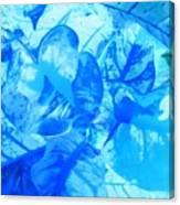 Blue Whisper Canvas Print