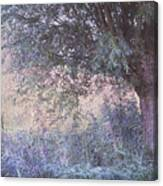 Blue Willow. Monet Style Canvas Print