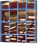 Blue Window 2 Canvas Print