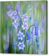Bluebell Haze Canvas Print