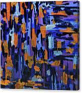 Blueberry Cobbler Canvas Print