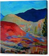 Blueberry Sunrise Canvas Print