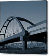 Blued Bridge Canvas Print