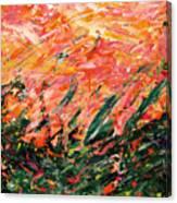 Bluegrass Sunrise - Desert B-right Canvas Print