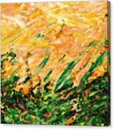Bluegrass Sunrise - Lemon B-right Canvas Print