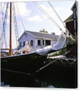 Bluenose II At Historic Properties Halifax Nova Scotia Canvas Print