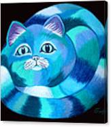 Blues Cat Canvas Print