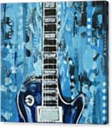 Blues Guitar Canvas Print