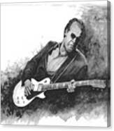 Blues Man Joe B. Canvas Print