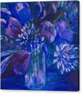 Blues To Brighten Your Day Canvas Print