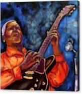 Blues Vibe Canvas Print