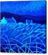 Bluescape Canvas Print
